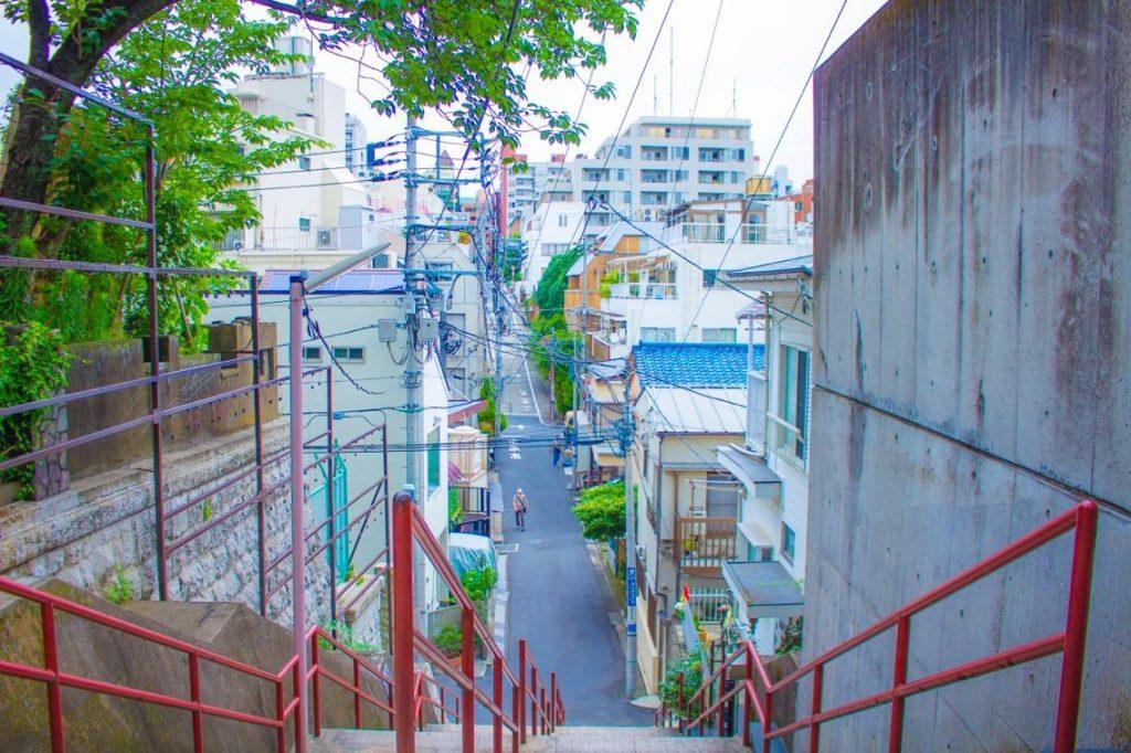 君の名は。聖地東京階段モデルは四谷須賀神社
